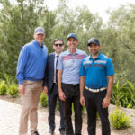 Duke Hasson, MD, Abtin Khosravi, MD, Jeremy Zoch and Ayaz Biviji, MD